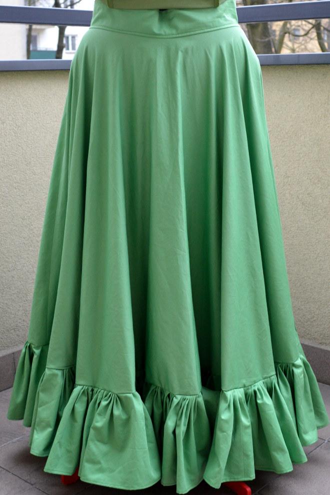 Elfie Szaty » Płócienna halka do długich sukni